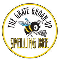 Grate Groan Up Spelling Bee logo